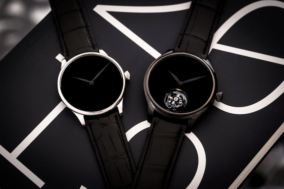 H. Moser & Cie Vantablack watches