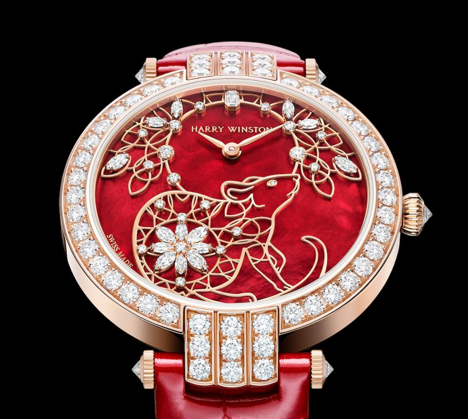Harry Winston Year of the Rat watch