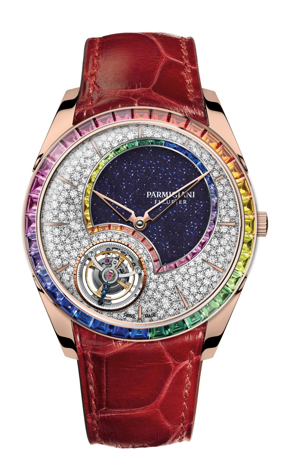 Parmigiani Fleurier Tonda 1950 Double Rainbow Flying Toubillon