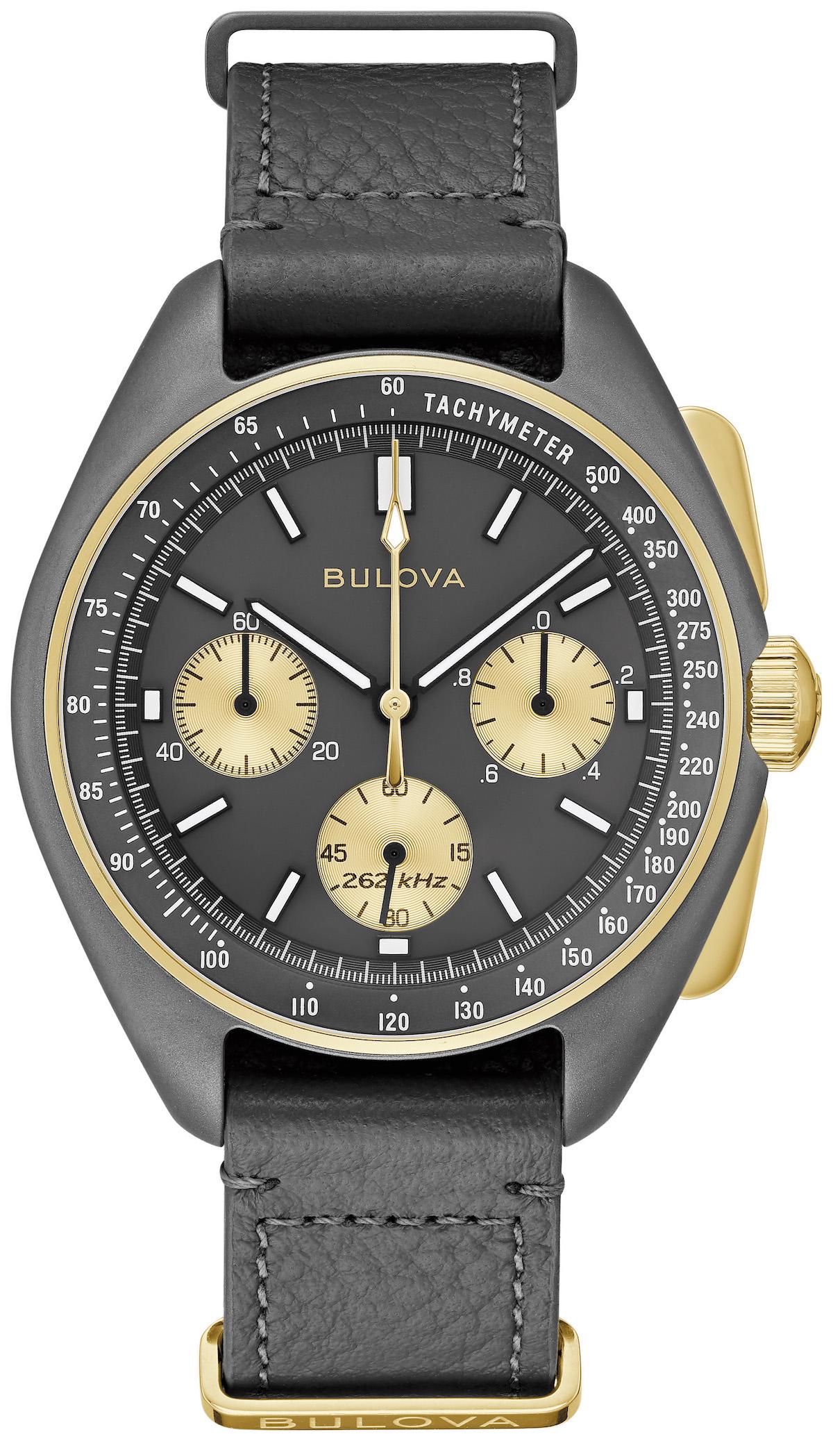 Bulova unveils a 50th Anniversary Limited Edition Lunar Pilot watch,