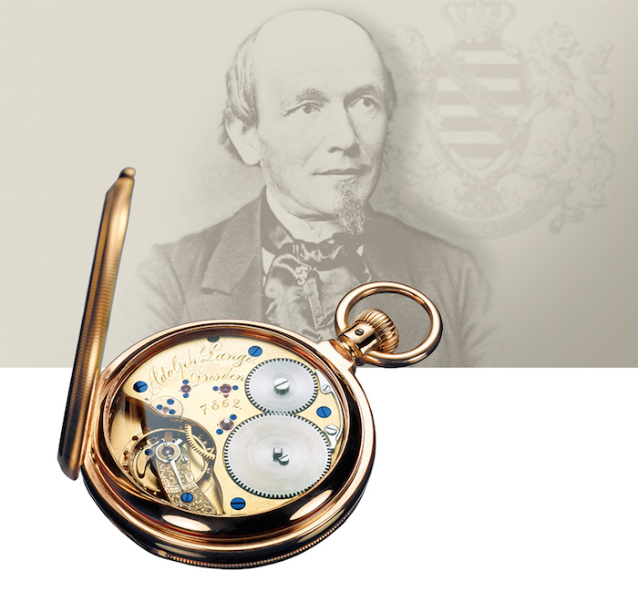 Ferdinand A. Lange, founder of the brand, was born 200 years ago in 1815.