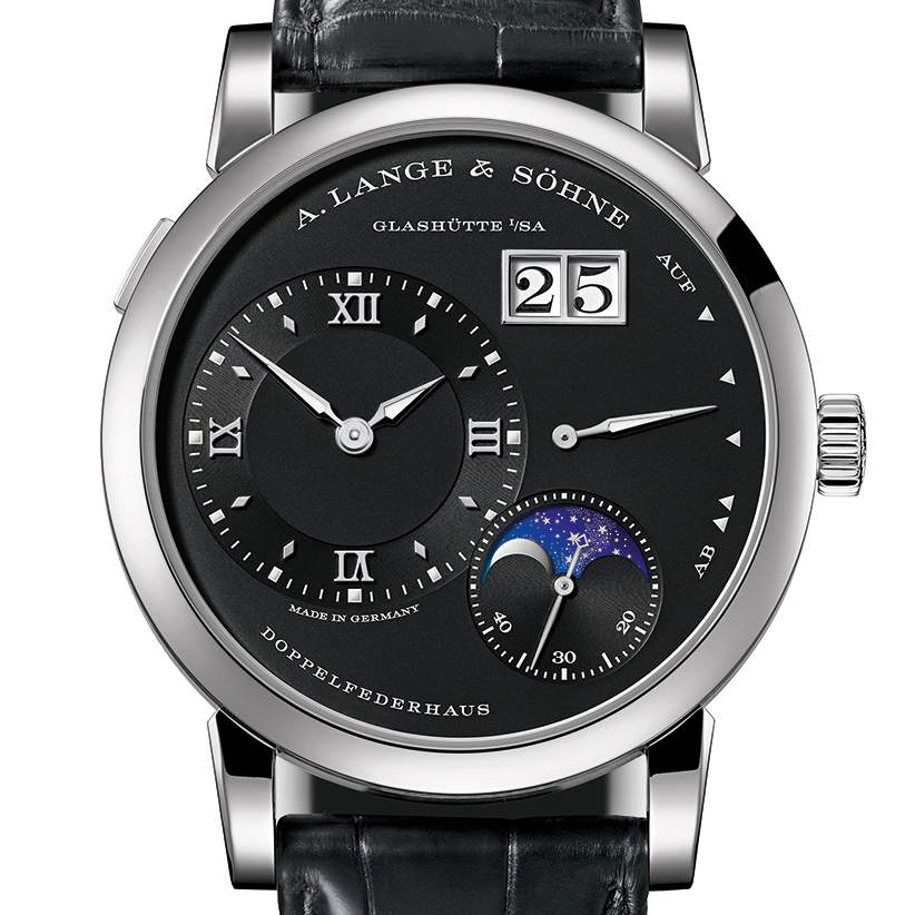 Top Six Men's Watches of 2017:A. LANGE & SÖHNE LANGE 1 MOONPHASE