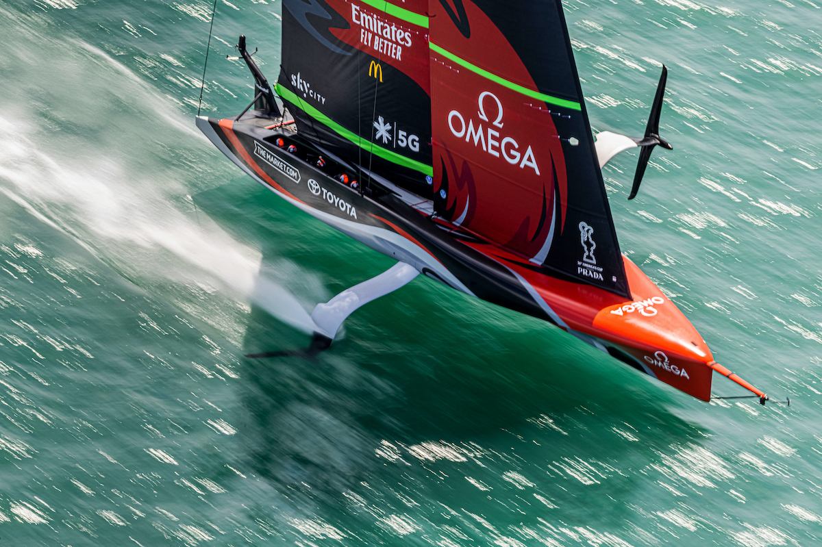 America's Cup 2021, Omega and America's cup