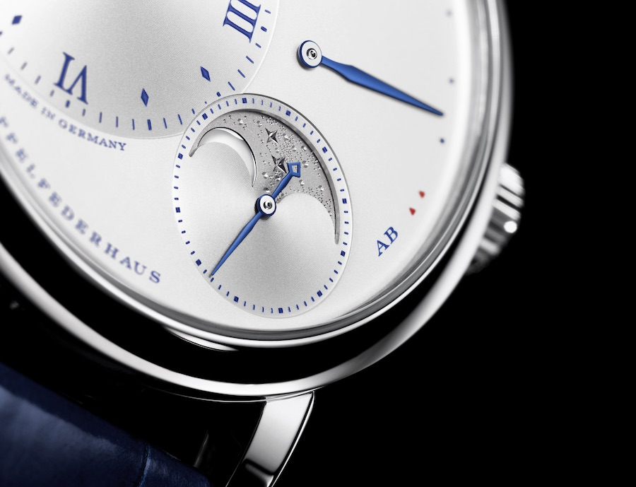A. Lange & Sohne Little Lange 1 Moon Phase 25th Anniversary Watch.