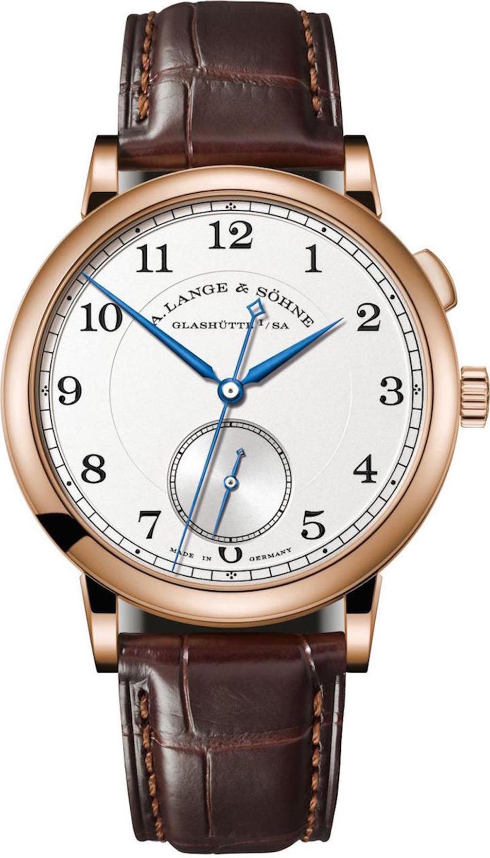 A. Lange & Sohne 1815 Homage to Walter Lange watch in 18-karat rose gold, Pre-SIHH 2018.