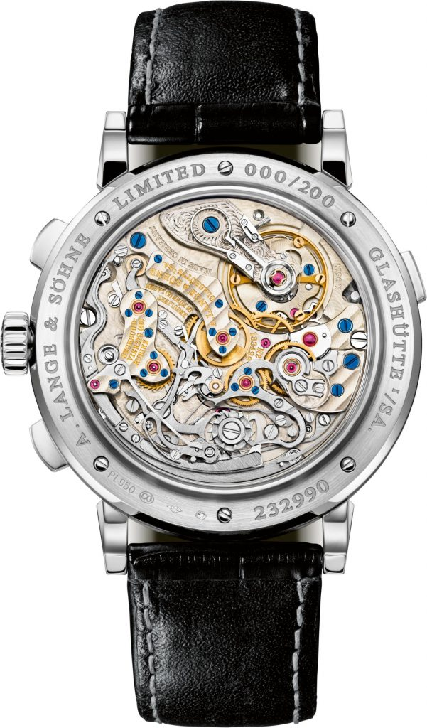 A. Lange & Sohne Datograph Up/Down Lumen houses a 454-part caliber.