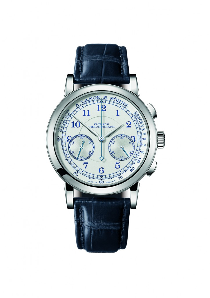 A. Lange & Sohne white gold 1815 Chronograph Limited Edition