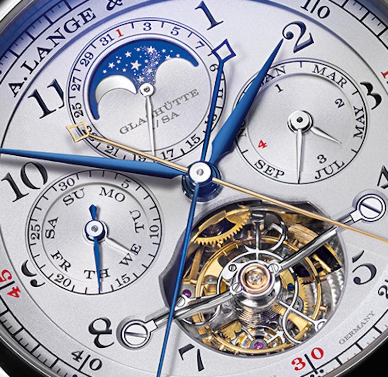 A. Lange & Sohne Tourbograph Perpetual Pour Le Merite watch