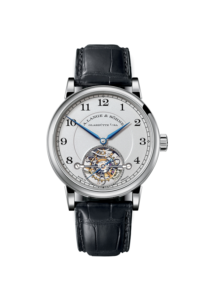 The platinum version of the 1815 Tourbillon.