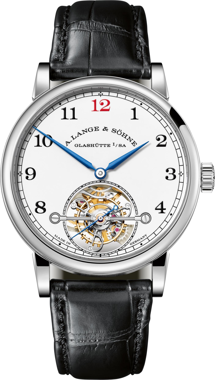 A. Lange *& Sohne 1815 Tourbillon Enamel watch