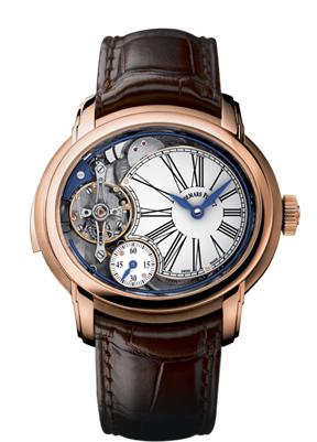 Audemars Piguet Millenary Minute Repeater in rose gold.