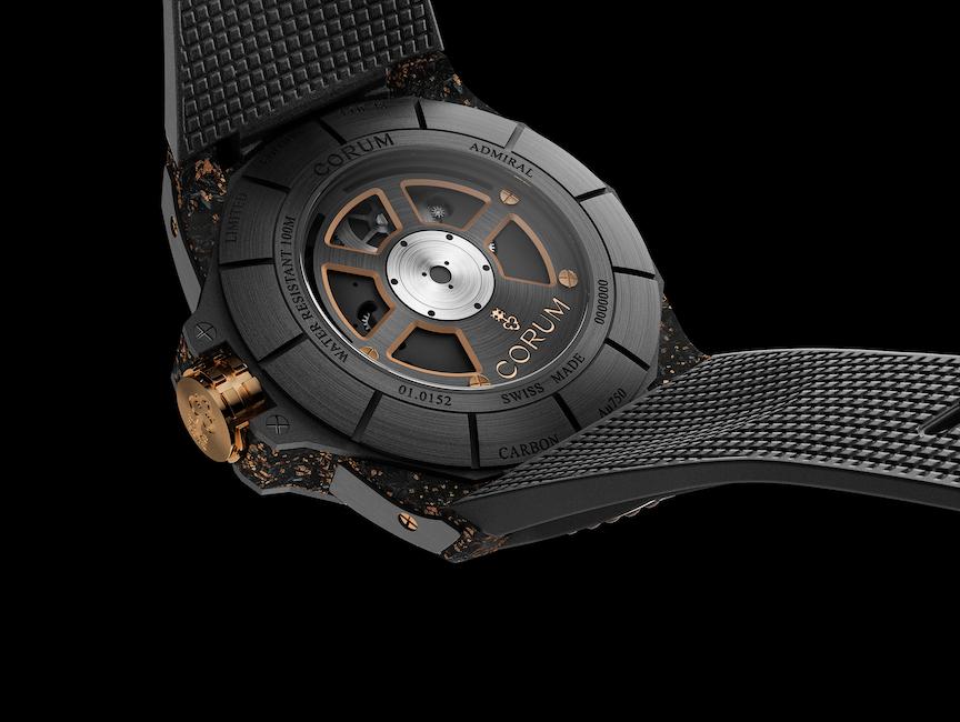 Corum Admiral 45 Automatic Open-worked Tourbillon, Watches & Wonders Geneva 2021