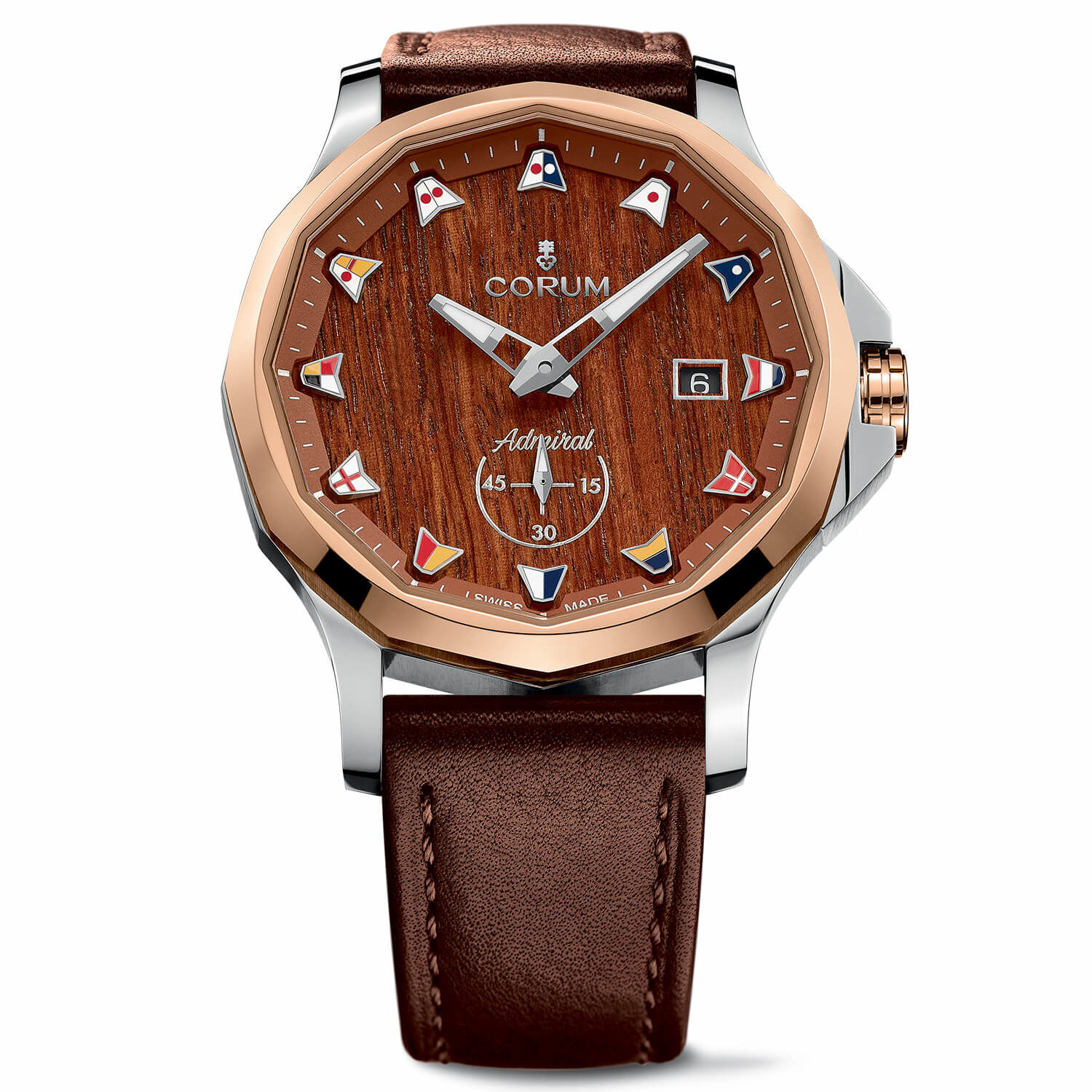 Admiral Legend 42 with wood dial