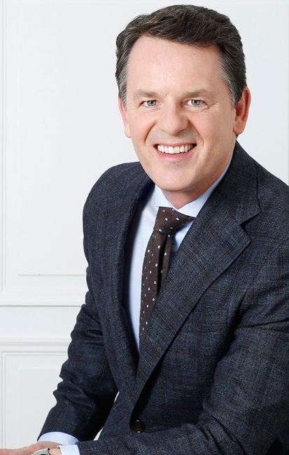 In the new Richemont executive line up, Alain Zimmermann, formerly CEO of Baume & Mercier, will become head of the Richemont Group's e-commerce -- a new position.
