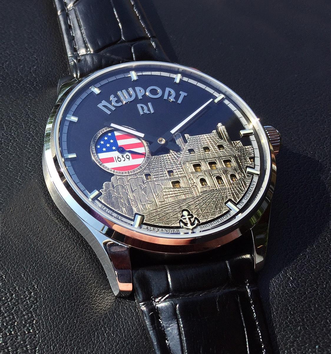 Alexander Shorokhoff Men's Newport watch, version one.