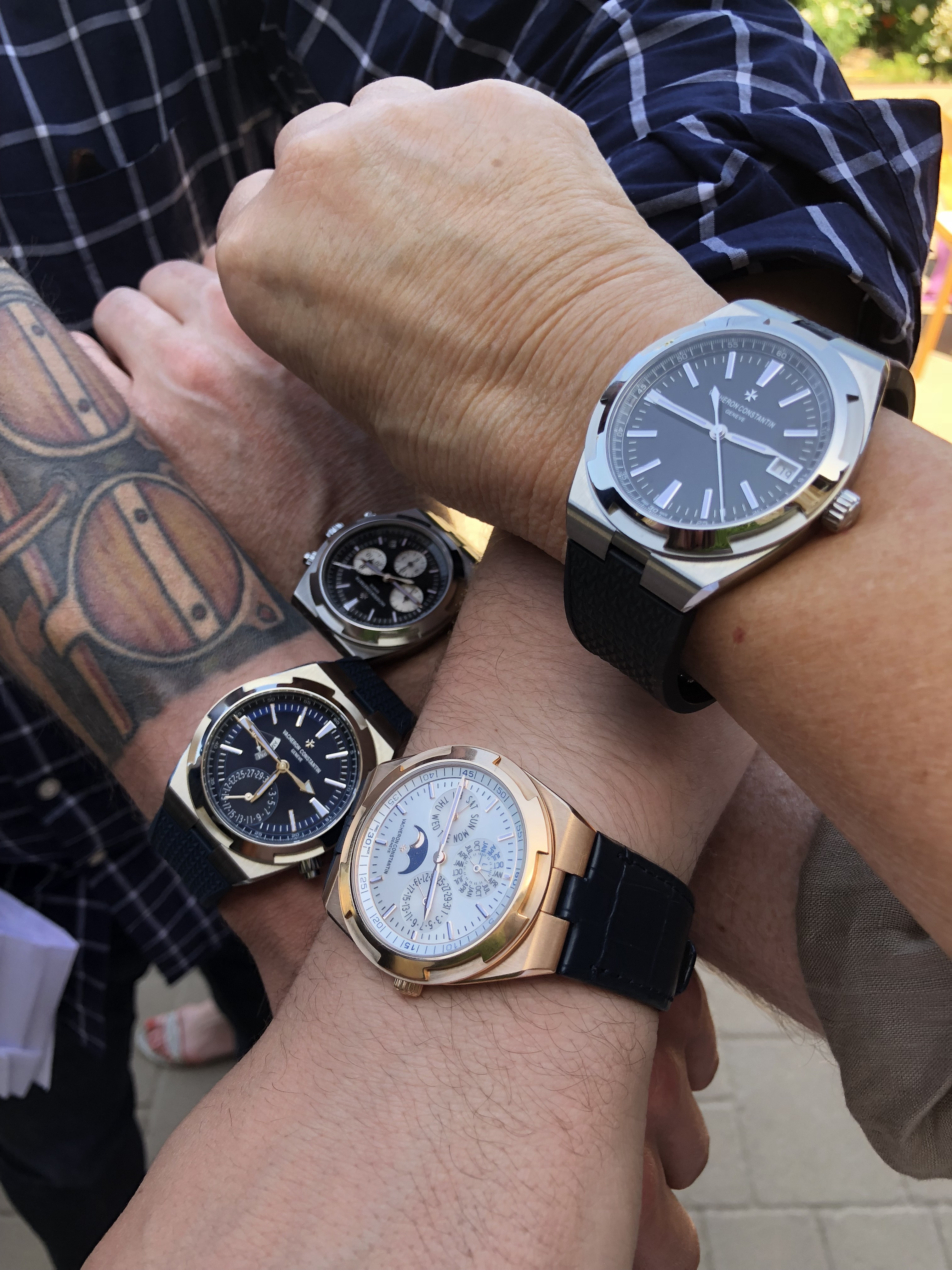 All hands on deck with Vacheron Constantin