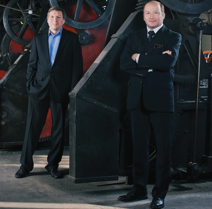 Andreas Strehler and Kari Voutilainen