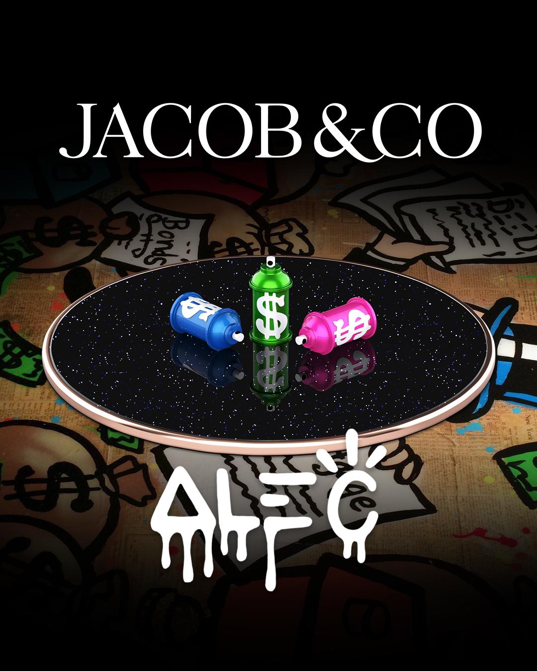 Jacob & Co. Astronomia Tourbillon Alec Monopoly watch