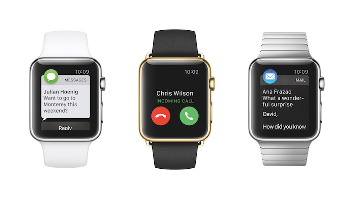 A few of many functions the Apple Watch can perform in addition to telling time.