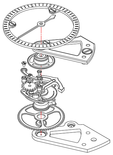 Arnold & Son Constant Force Tourbillon movement