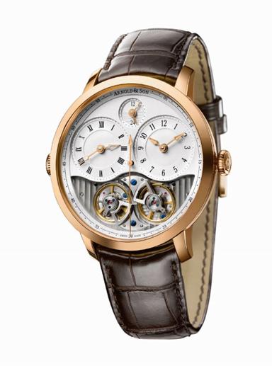 The Arnold & Son DBG watch won the AWJ award