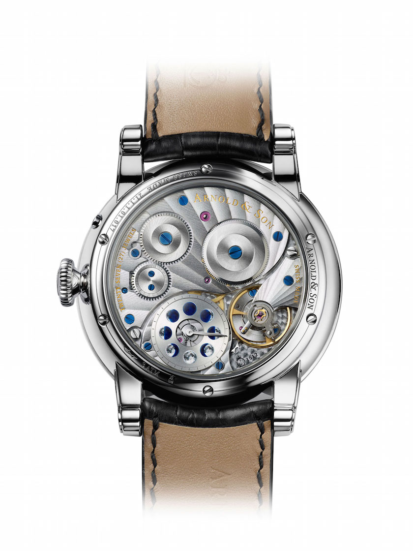 The movement has been made exclusively for the HM Perpetual Moon line and is accurate for 122 years before needing an adjustment