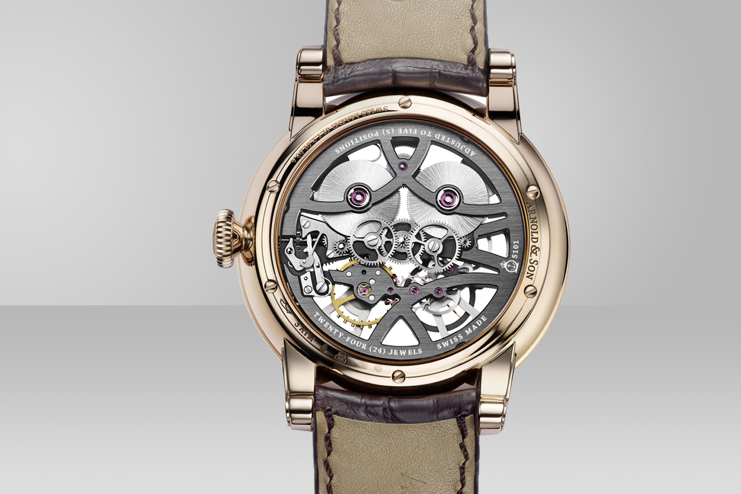 The back of the watch is just as alluring as the front