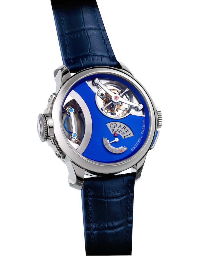 The Wigan sculpture in the Greubel Forsey Art Piece 1 required a special magnifying system.