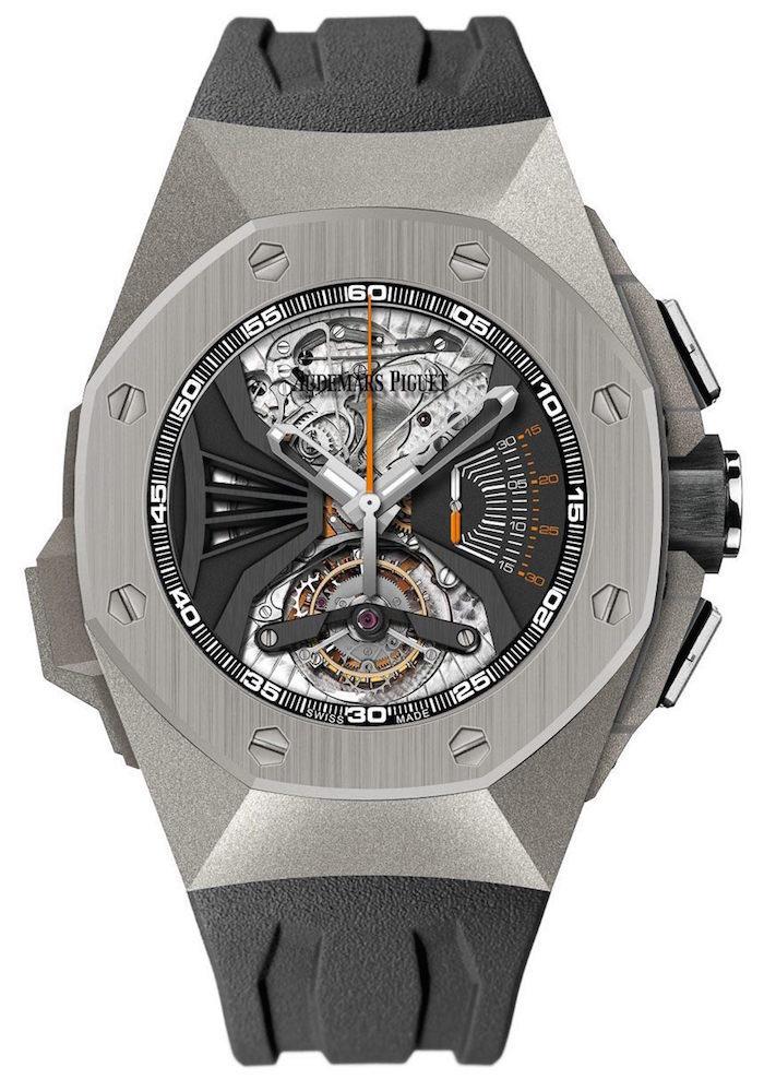 The Audemars Piguet Royal Oak Acoustic Concept watch features volume not yet achieved in wristwatches