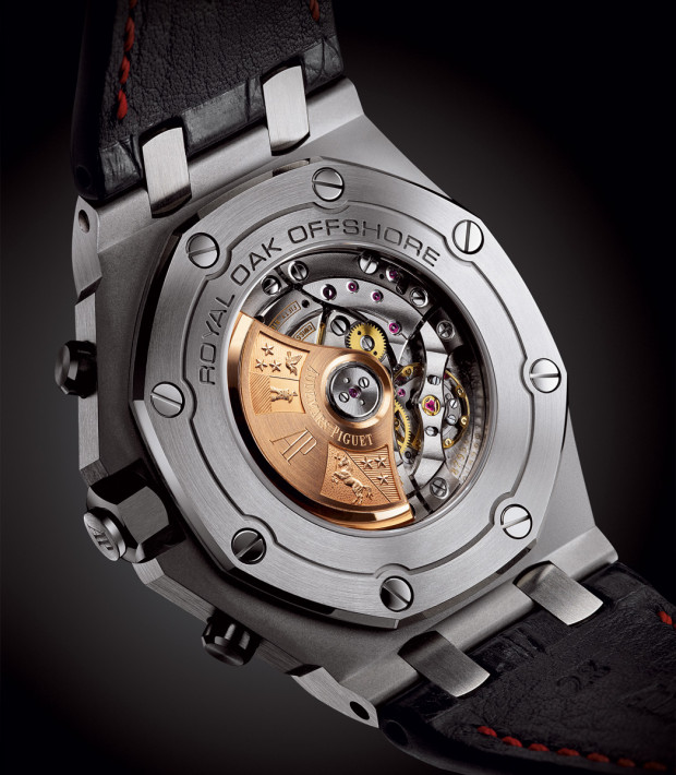 The new pieces now flaunt a sapphire caseback.