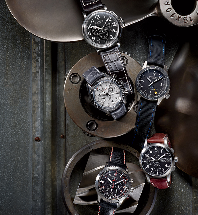 Five great aviation-inspired watches (Photo by Jeff Crawford for Niche Media)