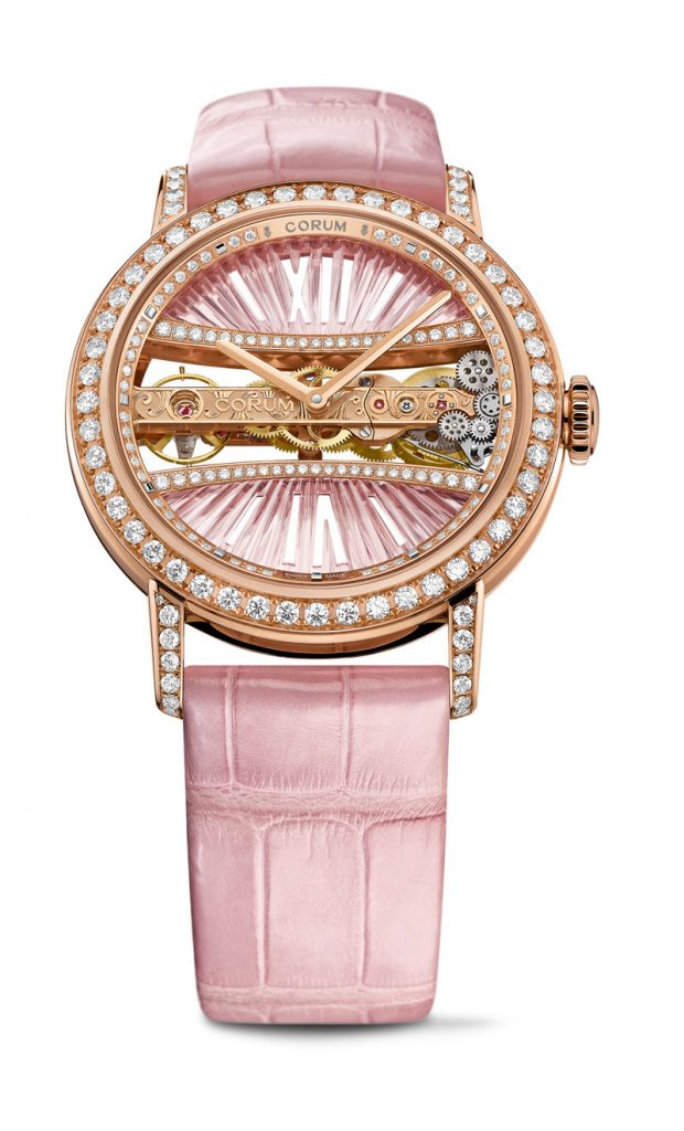 Corum Bridges Golden Bridge Round 39mm