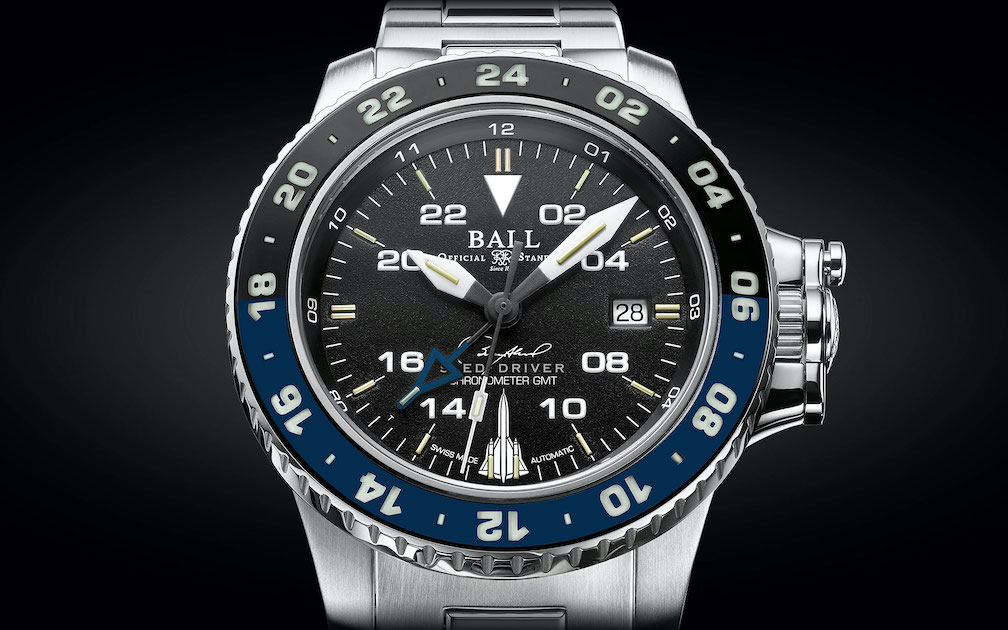 Ball Engineer Hydrocarbon AeroGMT Sled Driver watch honors military legend Brian Shul.