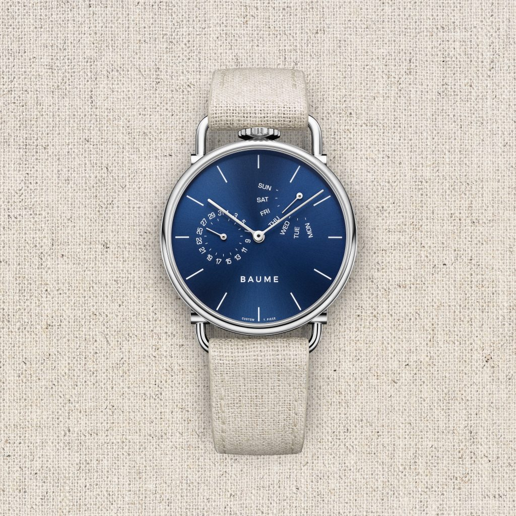Richemont Group Launches new watch brand, Baume, conceived of under the Baume & Mercier umbrella.