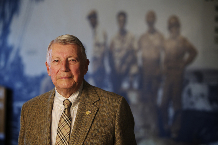 Retired general James B. Thayer, who's being honored by having the Military Museum named after him (photo: Thomas Boyd/The Oregonian)