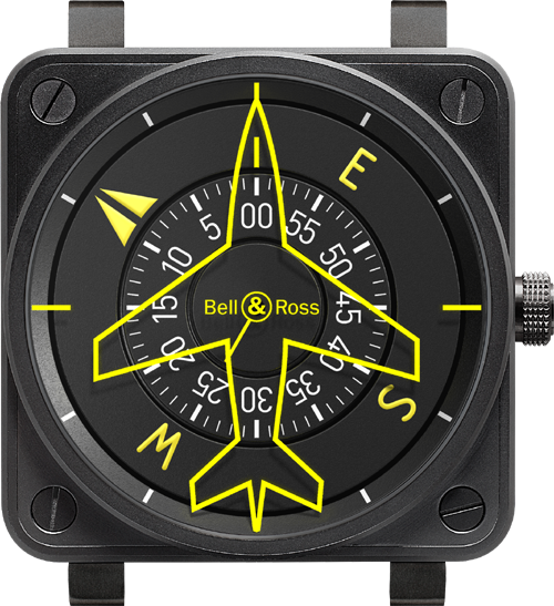 Bell & Ross BR01 Flight Compass