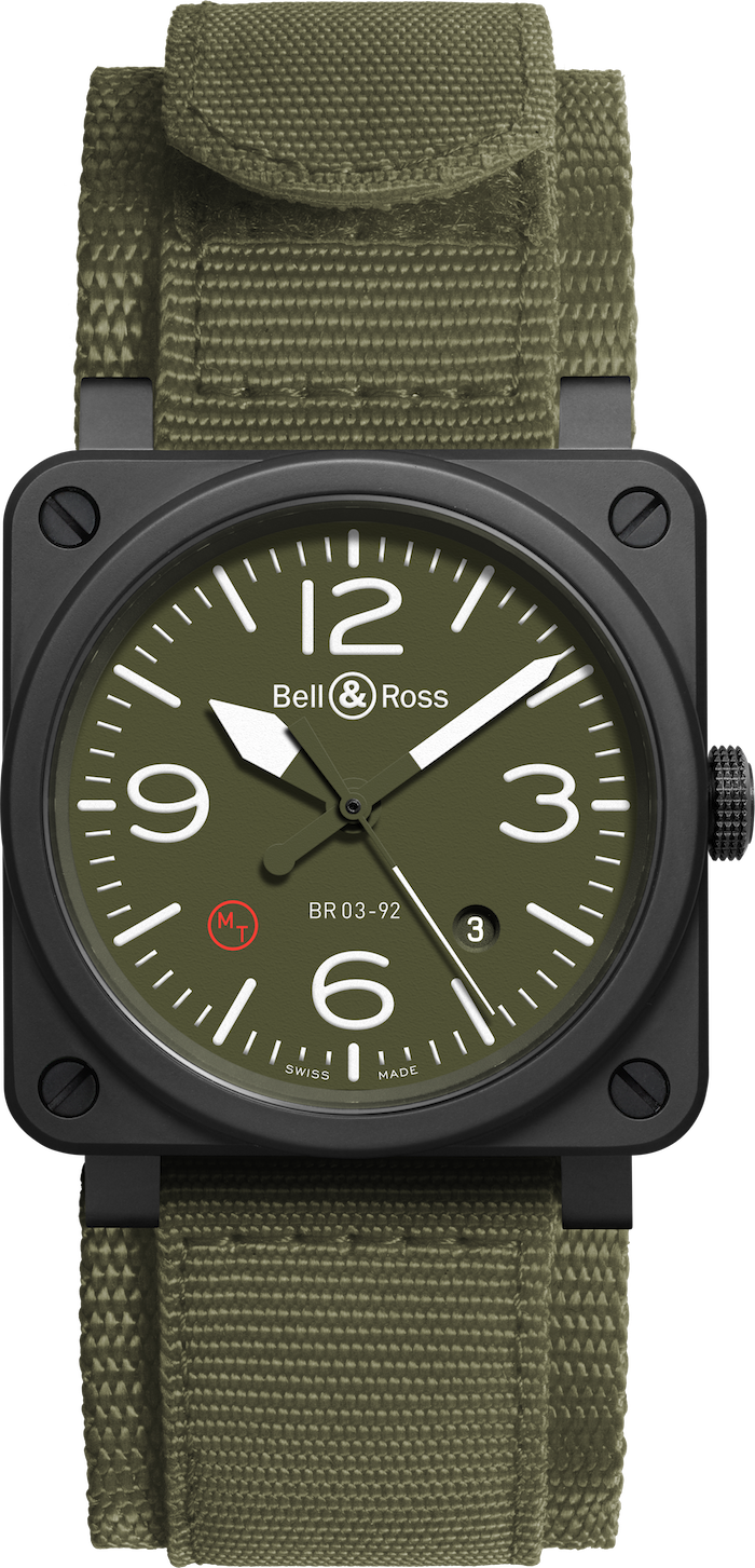 BR03-92 Military Type with canvas strap.