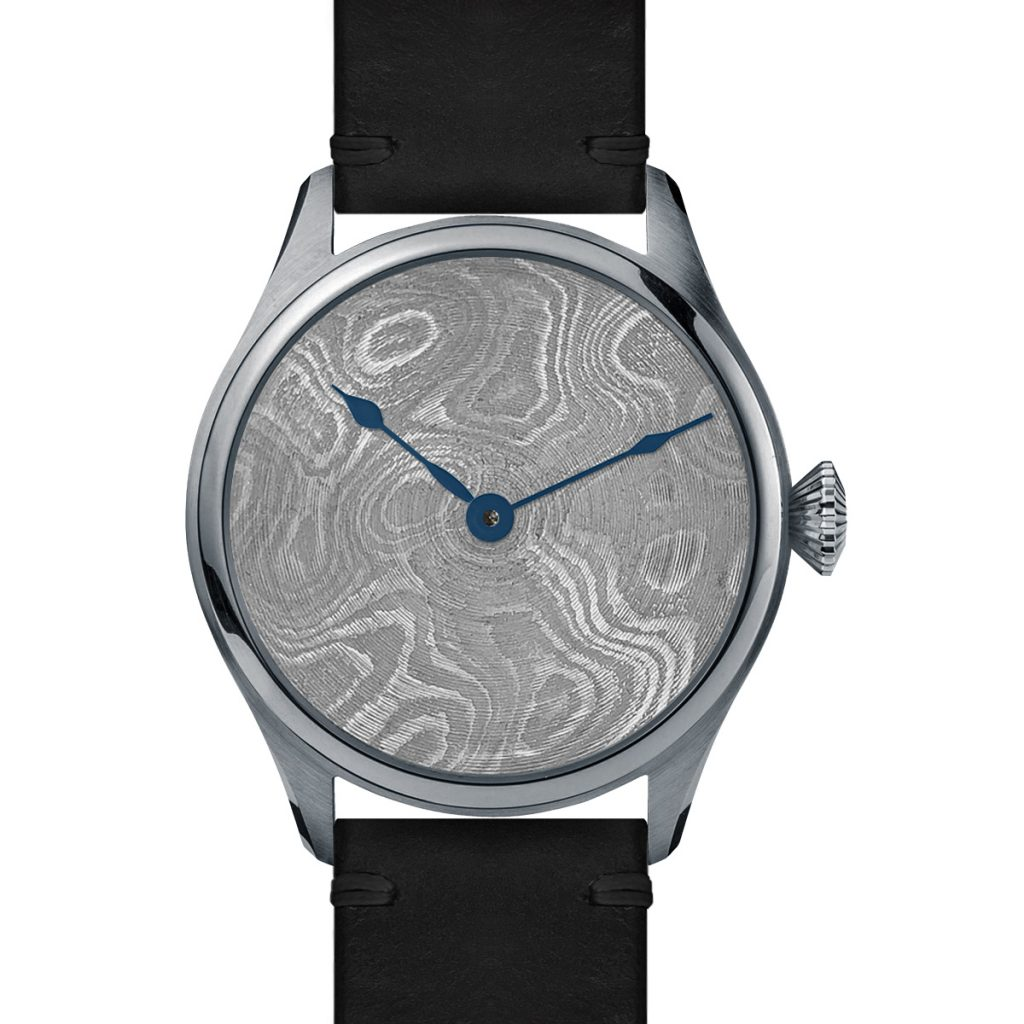 Bravur Watch will showcase its Damascus Steel line at Worn & Wound's California Wind-Up Show this weekend.