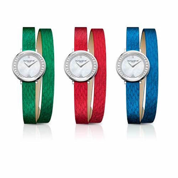 Baume & Mercier Petite Promesse with Banka straps
