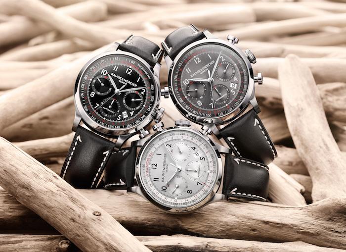 Baume & Mercier Capeland watches.