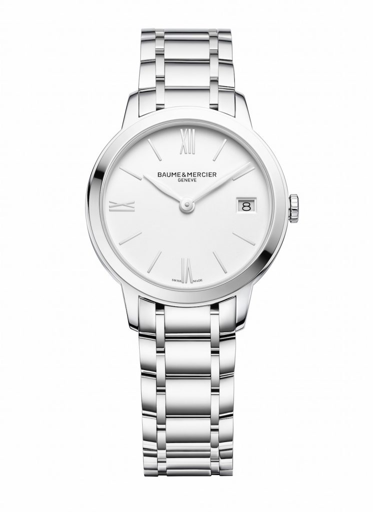 Baume et Mercier Classima 31 mm steel watch.