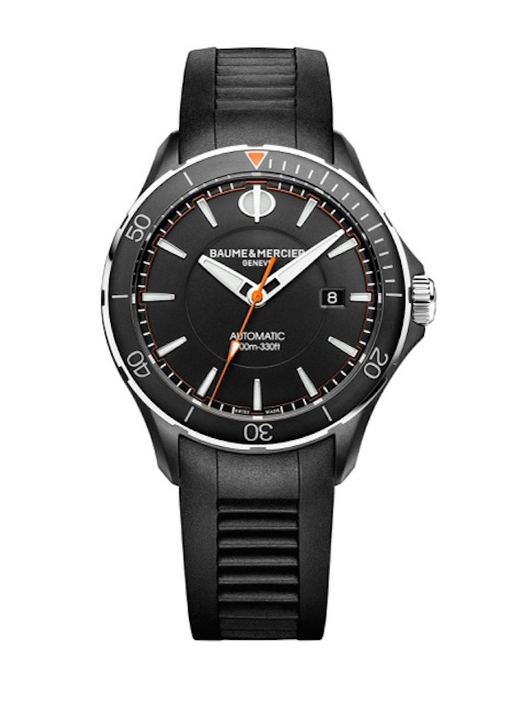 Baume & Mercier Clifton Club 10339 watch will be worn by Mike Ryan and Bob Ryan at the US Open and other tournaments this year.