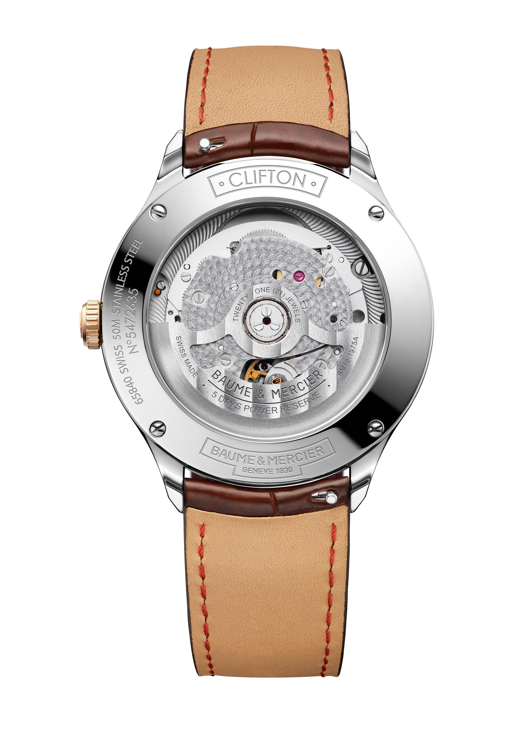 Baume & Mercier Clifton Baumatic watch