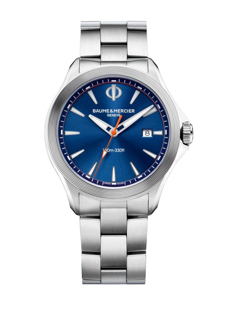 Baume & Mercier Clifton Club Quartz watch in stainless steel