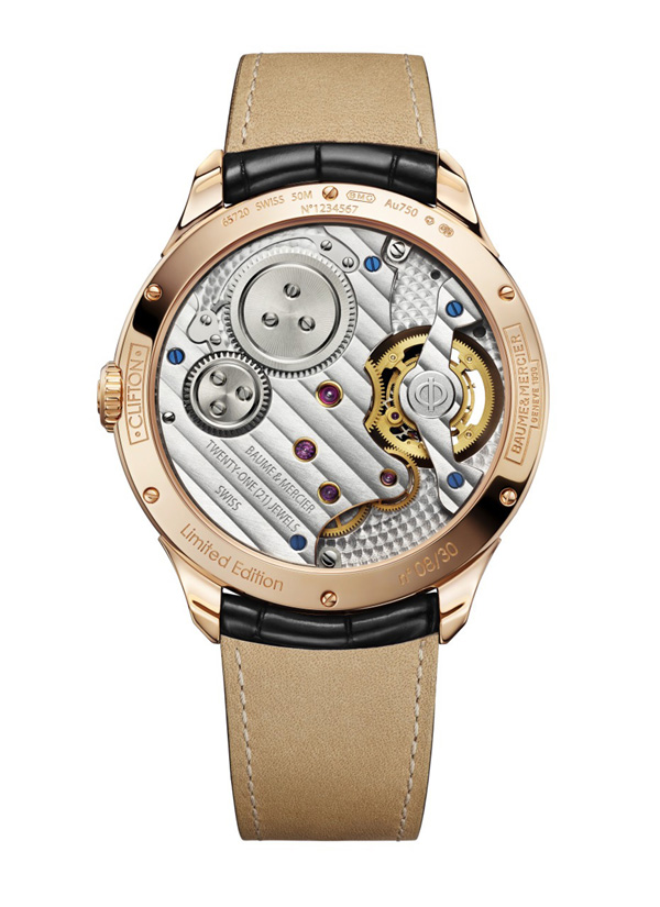 The detailing and finishing of the Clifton 1892 Flying Tourbillon is top-notch.