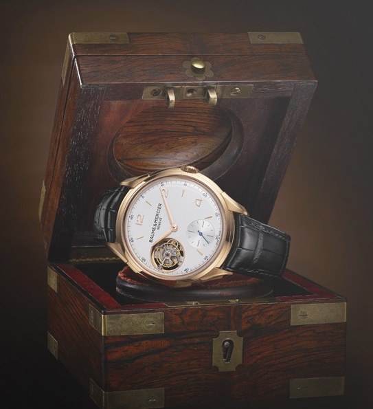 Even the packaging of the $59,000 watch is vintage inspired.