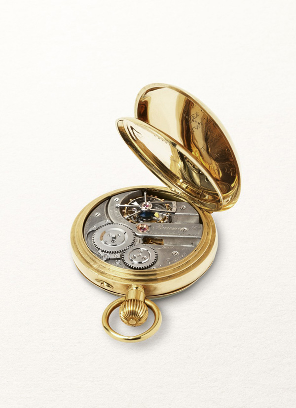 Today's Clifton Tourbillon is based on an 1892 model that held an accuracy record for 10 years.