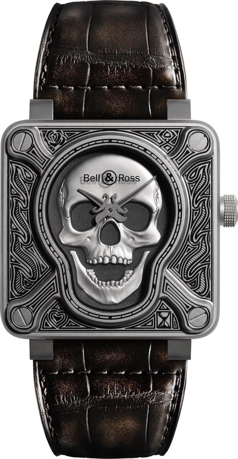 Bell & Ross BR01 Burning Skull