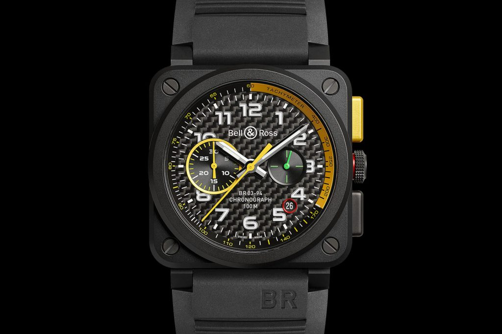 Bell & Ross BR03 RS17 Chronograph automatic.