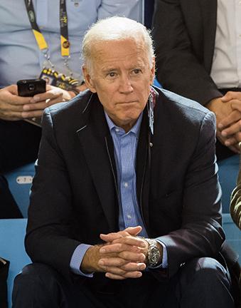 Biden wearing Omega watch